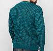 Ярко синий мужской свитер ХЛ, фото 8