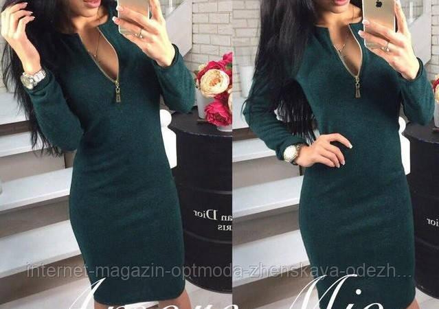 Платье из ангора