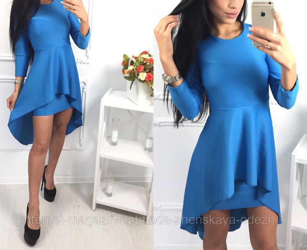 Женское платье баска