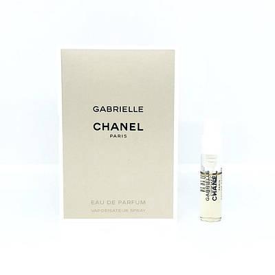ПРОБНИК женские духи CHANEL Gabrielle 1,5ml парфюмированая вода, шикарный белоцветочный аромат ОРИГИНАЛ