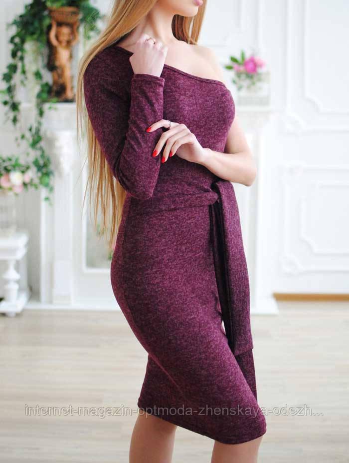 Женское люрексовое платье