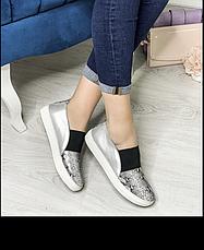 Туфли-слипоны  женские, размер:36-41, фото 3