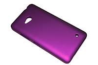 Пластиковый чехол для Microsoft Lumia 640 фиолетовый, фото 1