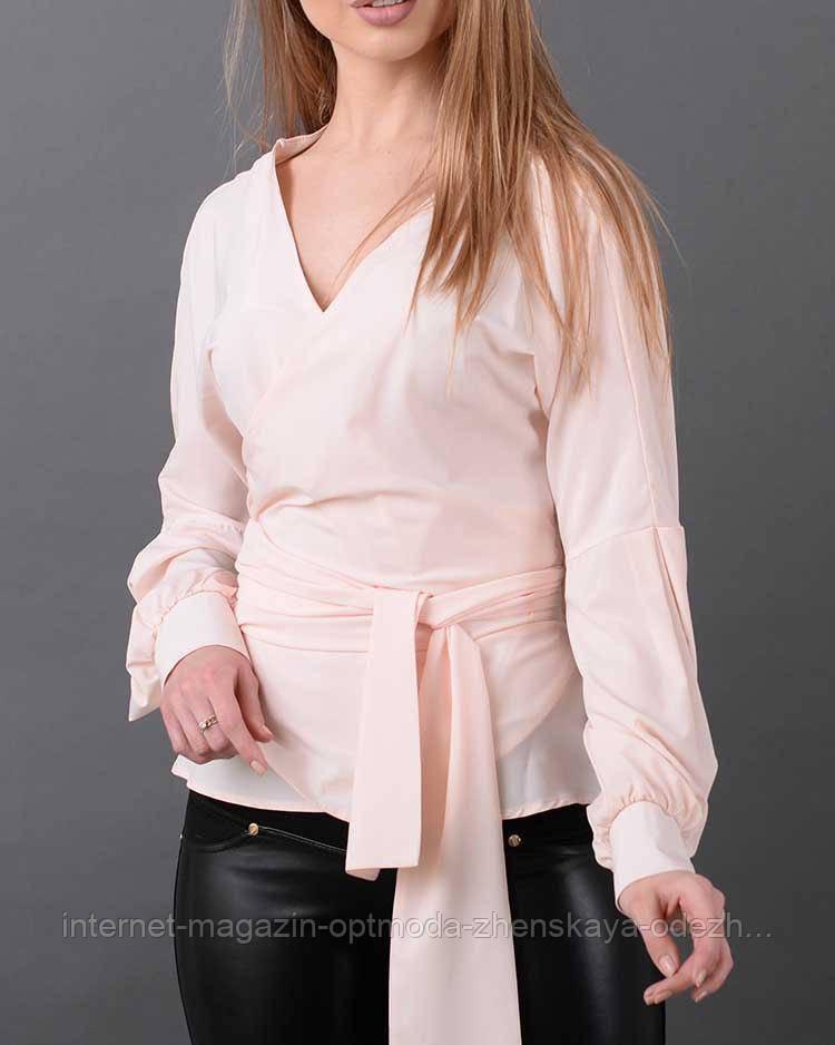 Женская блузка на запах