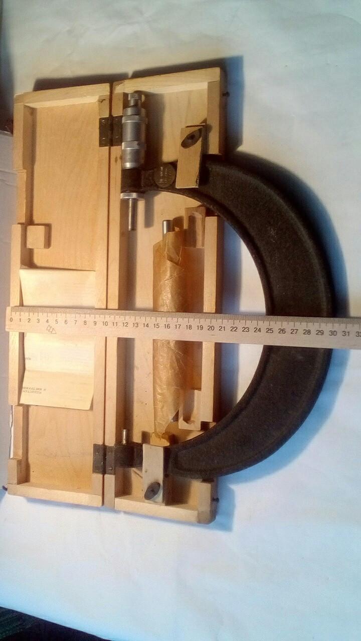 Микрометр гладкий МК 175-200(возможна калибровка вУкрЦСМ)  ГОСТ6507-90, фото 1