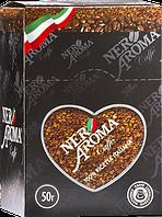 Растворимый кофе Nero Aroma в стиках 2гр х 25 стик (12 шт. в коробке)