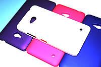 Пластиковый чехол для Microsoft Lumia 640 белый, фото 1