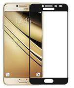Защитное стекло Full Cover Samsung J7 prime / G610 Черное
