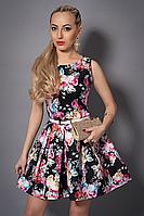 Платье  мод 371-4 размер 44,46 черное