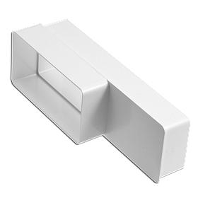 Переходник Эра ABS прямоугольных каналов 60 х 120 - 60 х 204 мм (60-453)