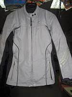 Мотокуртка б/у без защиты плотный не продуваемый  непромокаемый текстиль