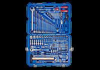 """Набор инструментов универсальный 128 ед. 1/4""""+1/2"""" KING TONY 7528MR01 (Тайвань)"""