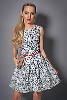 Платье  мод 371-5 размер 44 орнамент