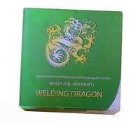 Сварочная проволока для нержавеющих сплавов Welding Dragon ER321 ф 1,0 мм ( катушка 5 кг )