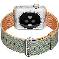 Ремешок HOCO Woven Nylon Gold/Royal Blue для Apple Watch 38mm/40mm Series 5/4/3/2/1