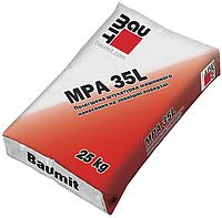 Baumit MPA 35 L -стартовая штукатурная смесь цементно-известковая облегченная перлитовым заполнителем, 25 кг, фото 1
