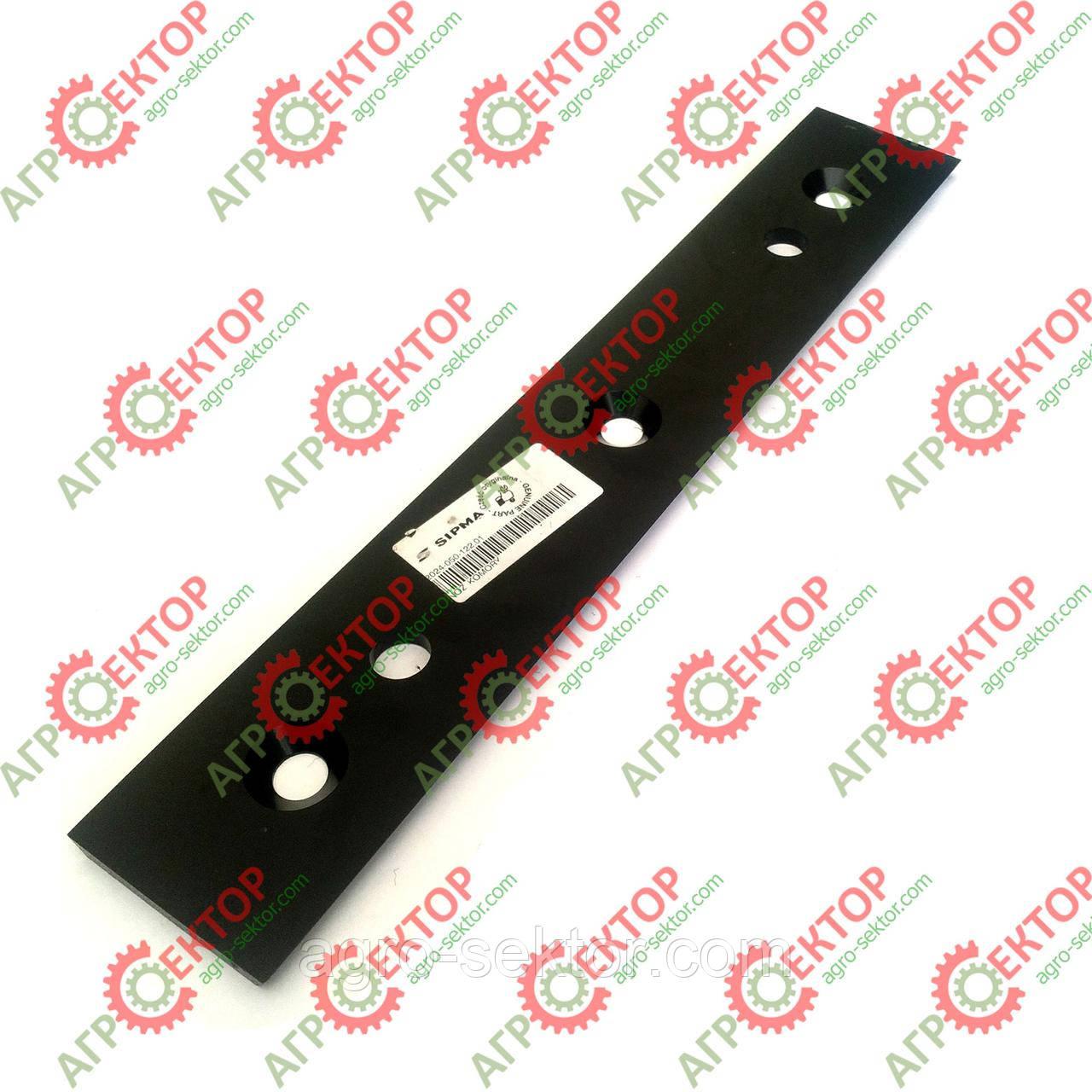 Нож поршня неподвижный противорежущий на пресс-подборщик Sipma Z-224 2024-050-122.01