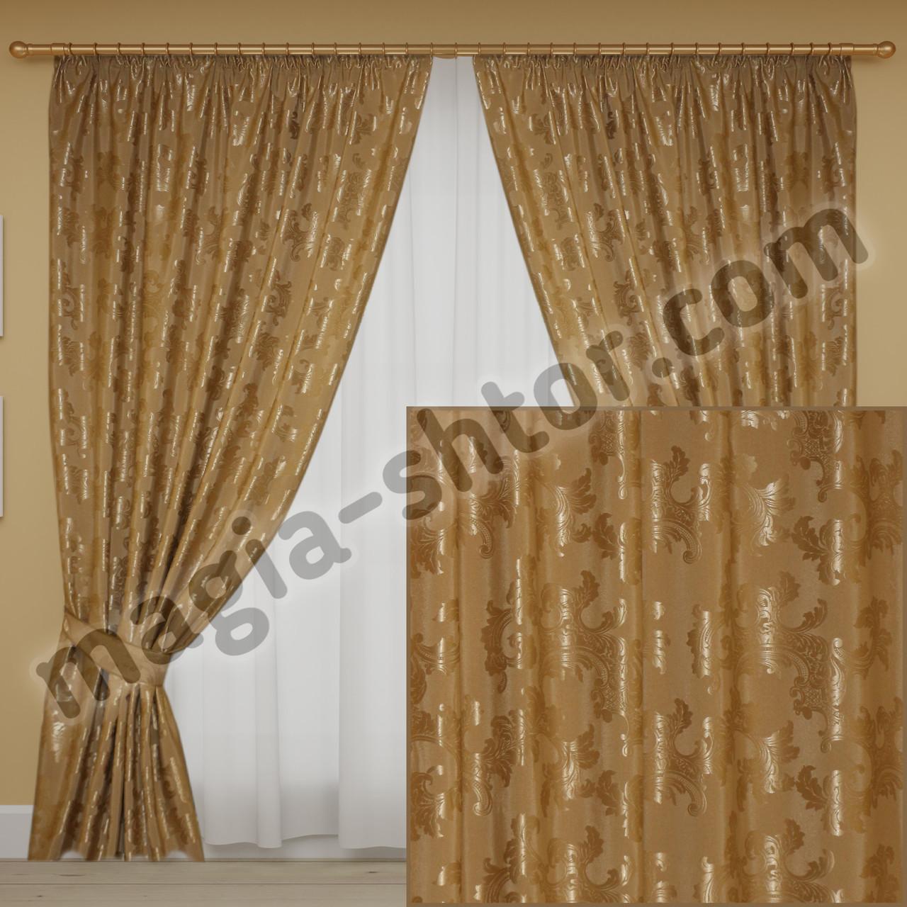 Готовые шторы из плотной ткани