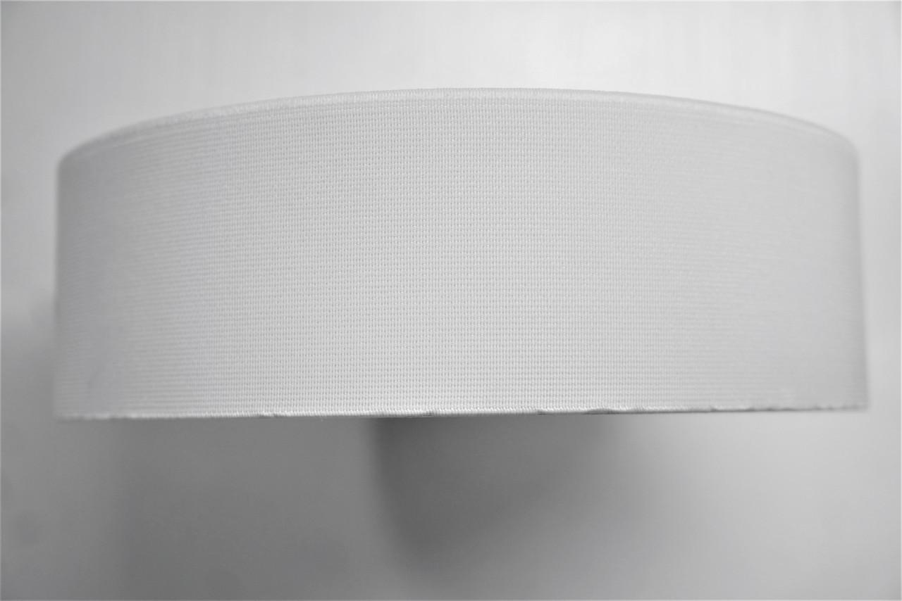 Резинки на голенище эластичные 5 см. цвет белый(Италия)