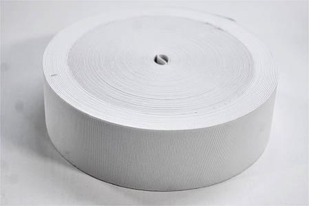 Резинки на голенище эластичные 5 см. цвет белый(Италия), фото 2
