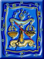 Часы настенные 2 зодиак 30х40 для кухни, гостиной, детской, спальни. Подарок