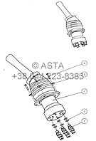 Левый джойстик W14F8A7