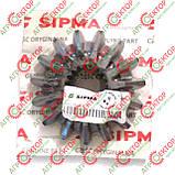 Шестерня конічна шліцьова редуктора на прес-підбирач Sipma Z-224 2010-060-109.01 5223000070 5223/00-007, фото 6