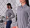 Рубашка, ткань: супер софт (мелкий горох) Размер: С(42), М(44), Л(46). Разные цвета (6248), фото 7