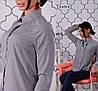 Рубашка, ткань: супер софт (мелкий рисунок) Размер: С(42), М(44), Л(46). Разные цвета (6249), фото 3
