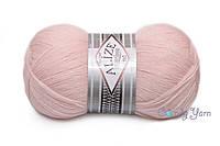 Alize Superlana Tig, жемчужно-розовый №271