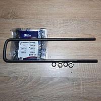 Стремянка кузова Газель внутреняя L=375мм в сборе (гайка 2 шт+гровер 2 шт) (пр-во Авто Престиж)