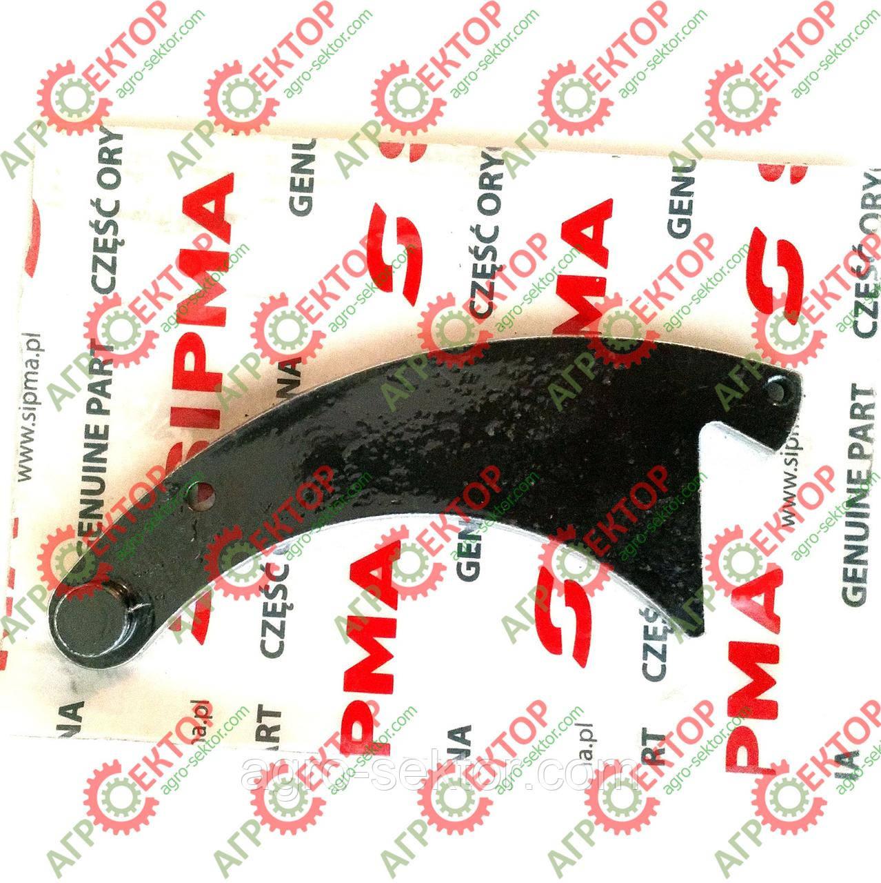 Собачка зубчатого колеса (фиксатор) привода вязального механизма на пресс-подборщик Sipma Z-22 2023-080-530.01