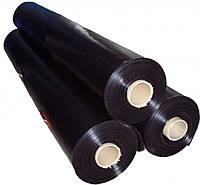Пленка политиленовая черная 1,5м*200мк*50м,