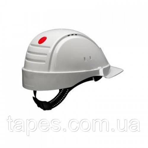 3М G2001CUV-VI Захисна каска діелектрична біла