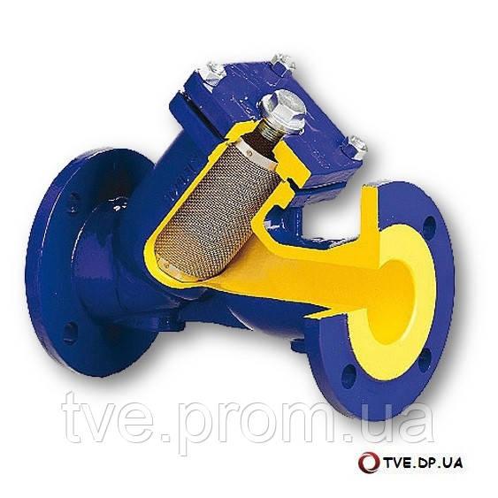 Фильтр механический  сетчатый фланцевый ZETKAMA тип 821 A Pn16 Ду100 - Инженерные решения в Днепре