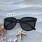 Стильные солнцезащитные очки черные, фото 5
