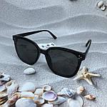 Стильные солнцезащитные очки черные, фото 3