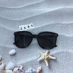 Стильные солнцезащитные очки черные, фото 6