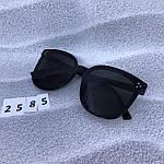 Стильные солнцезащитные очки черные, фото 4