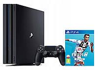 Консоль SONY PlayStation 4 Pro 1 ТB + игра FIFA20