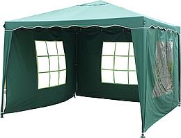 Павильон шатер садовый Tarrington House 3х3 м с тремя стенками Everyday зеленый 1314