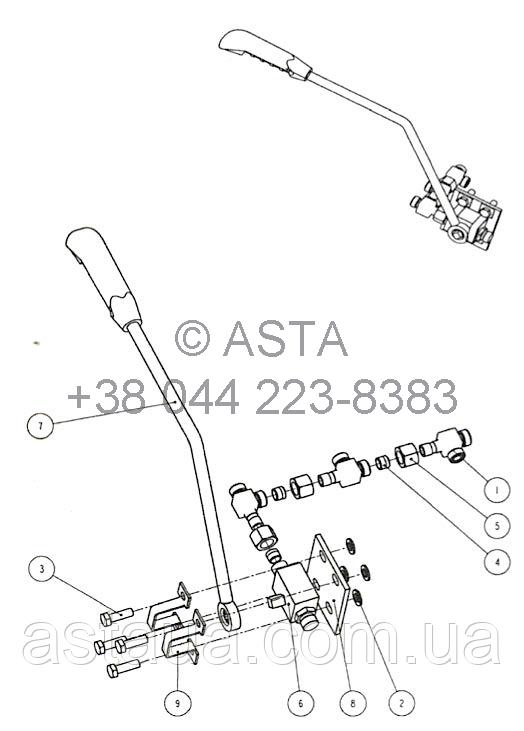 Сигнальный выключатель W14F8A8