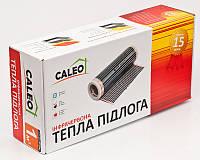 Пленочный инфракрасный теплый пол Caleo Classic 220-0,5-9.0 Комплект 9кв.м с тэрморегулятором Klimteh M6.716, фото 1