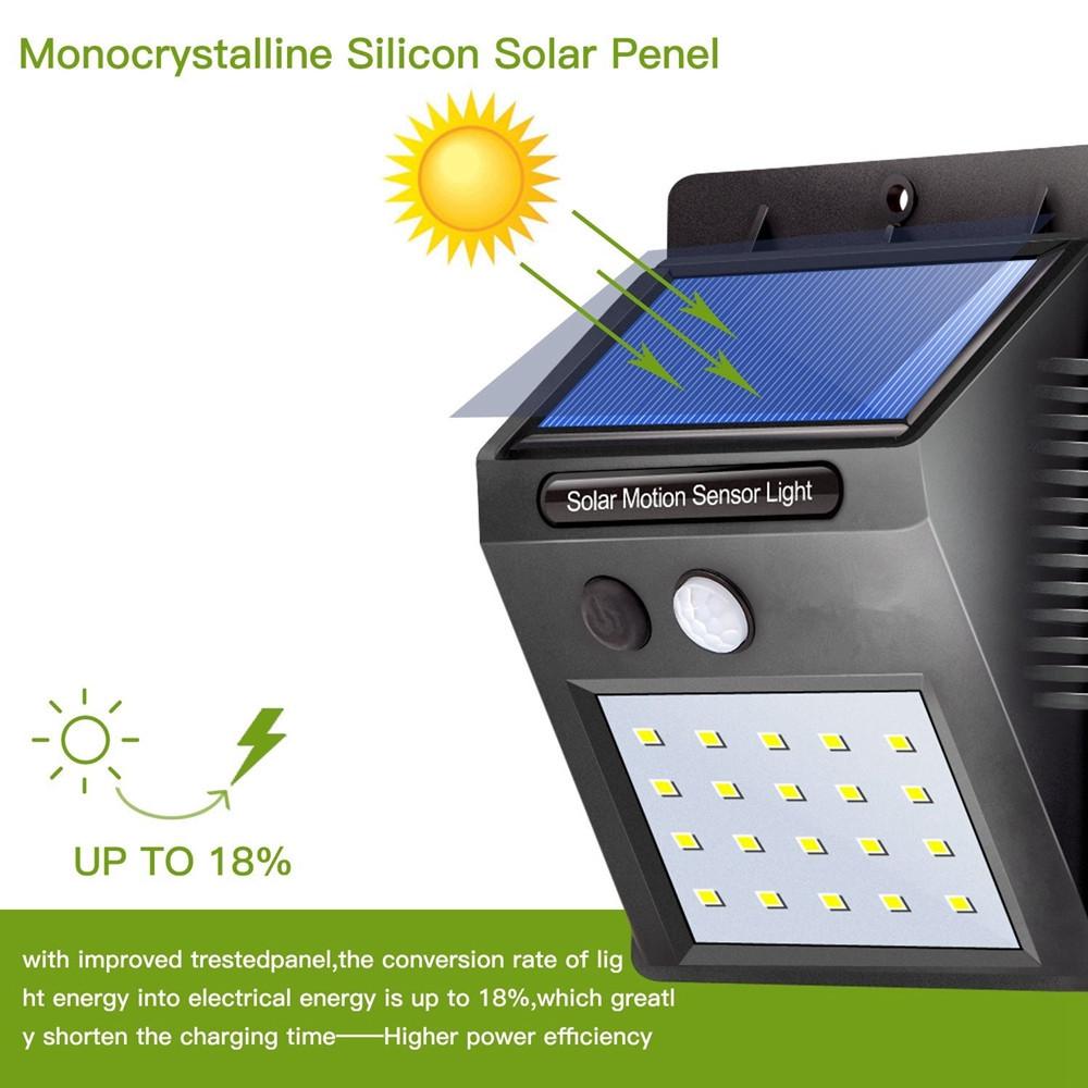 Светильник Экосвет | ОРИГИНАЛ - Уличный фонарь с датчиком движения на солнечной батарее Smart Light