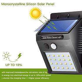 Светильник Экосвет   ОРИГИНАЛ - Уличный фонарь с датчиком движения на солнечной батарее Smart Light