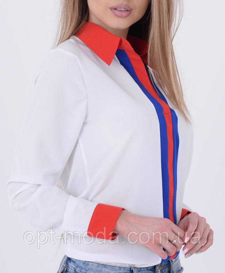 "Модная короткая блузка ""Мариям"""