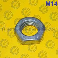 Гайки шестигранные низкие ГОСТ 5916-70, DIN 439, 936 М14