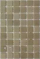 Стеклянная мозаика с закругленными краями   MK25118 Vanilla Light 25х25 мм.