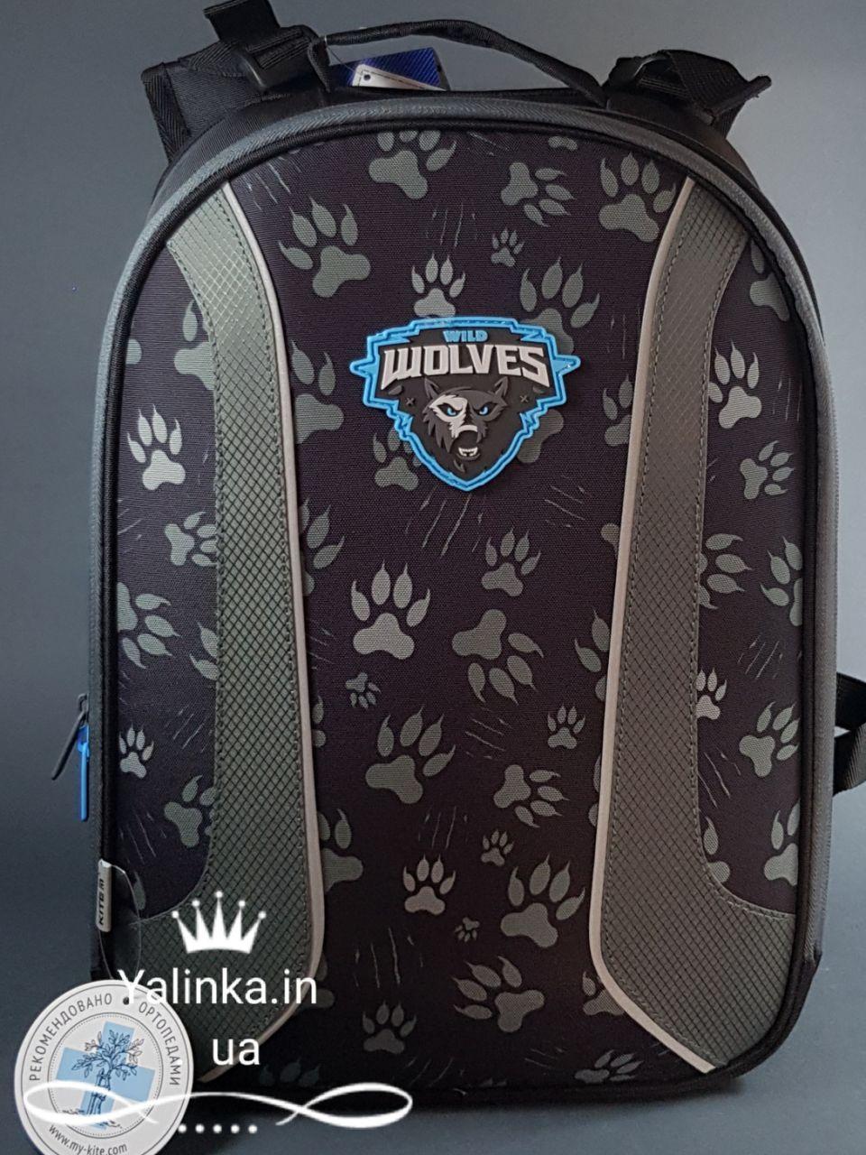 Рюкзак школьный каркасный Kite Education 703-2 Wolf K19-703M-2 ранец  рюкзак школьный hfytw ranec