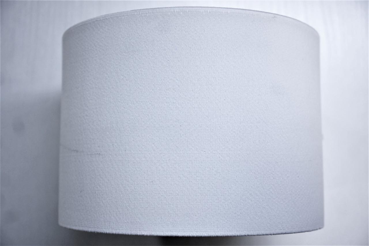 Резинки на голенище эластичные 14 см. цвет белый(Италия)